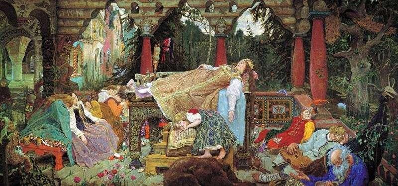 الأميرة النائمة   فيكتور فاسنيتسوف