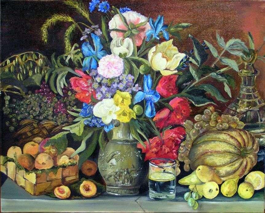 الزهور والفواكه   إيفان خروتسكي