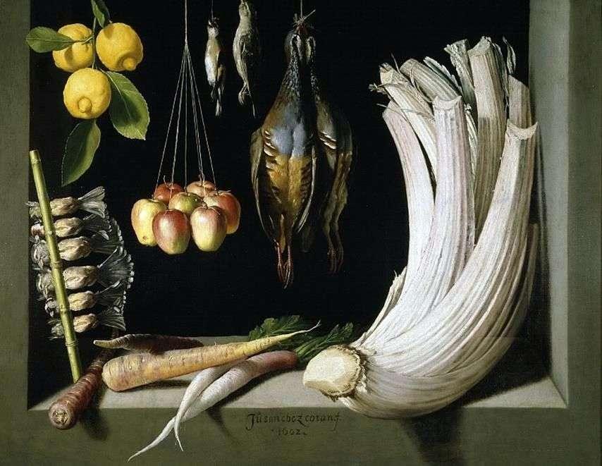 لا تزال الحياة مع لعبة   الخضروات والليمون ، سانشيز خوان كوتان