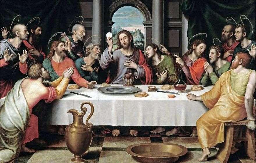 العشاء الأخير   خوان دي خوان