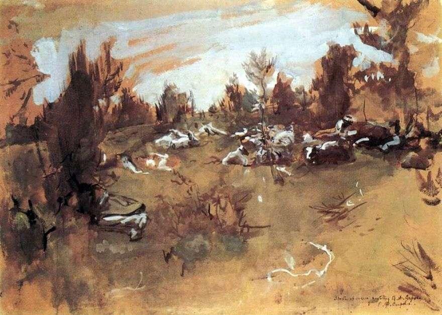القطيع. دوموتكانوفو   فالنتين سيروف