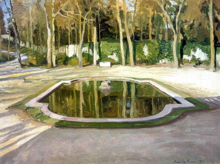 المرآة في تريانون   الكسندر بينوا