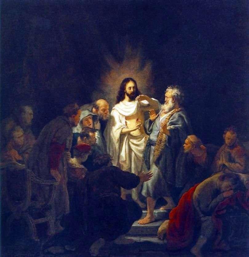 الكفر من الرسول توماس   رامبرانت هارمنز فان راين