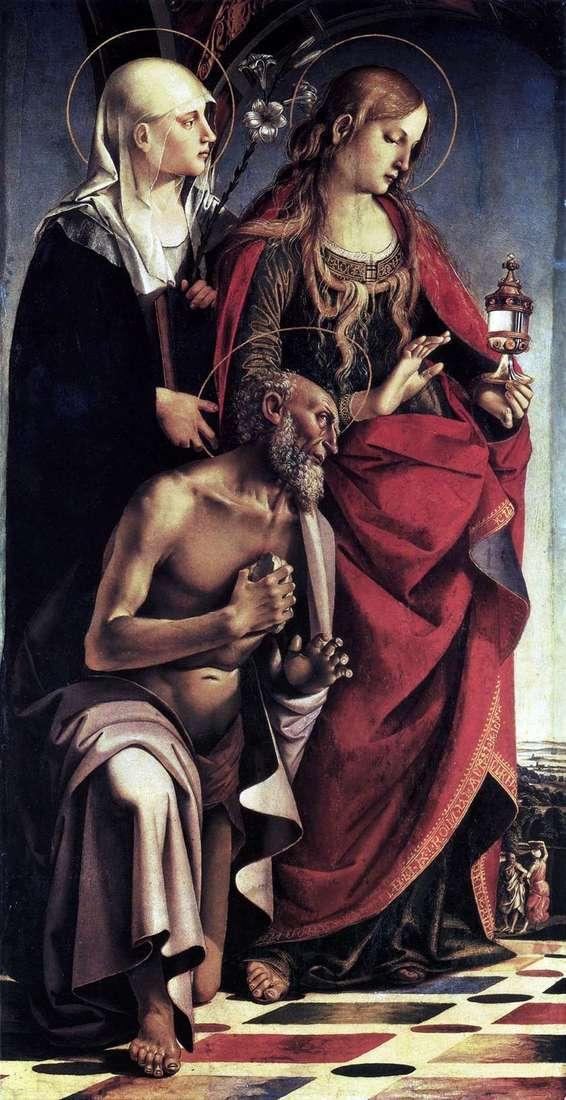 مذبح القديسين أوغسطين   لوكا سينيوريلي