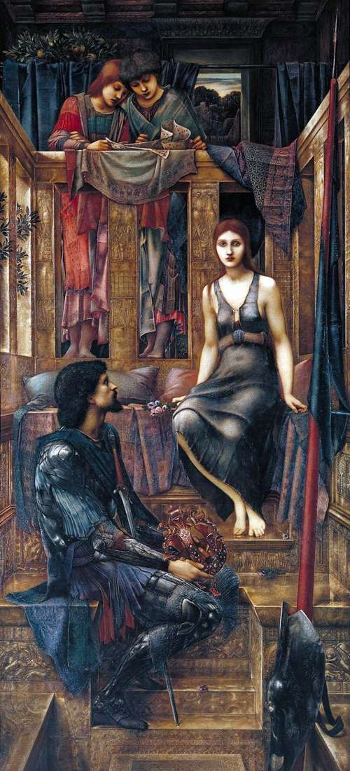 الملك كوفيتوا والفتاة الشريرة   إدوارد بورن جونز