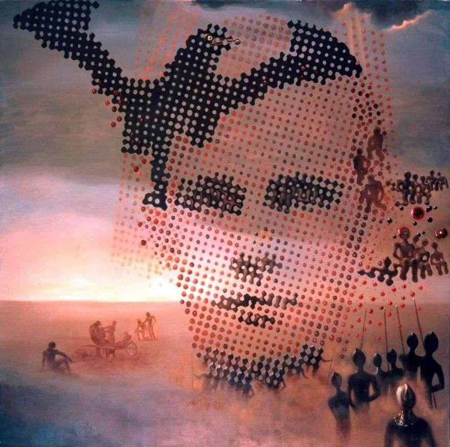 صورة لأخي المتوفى   سلفادور دالي