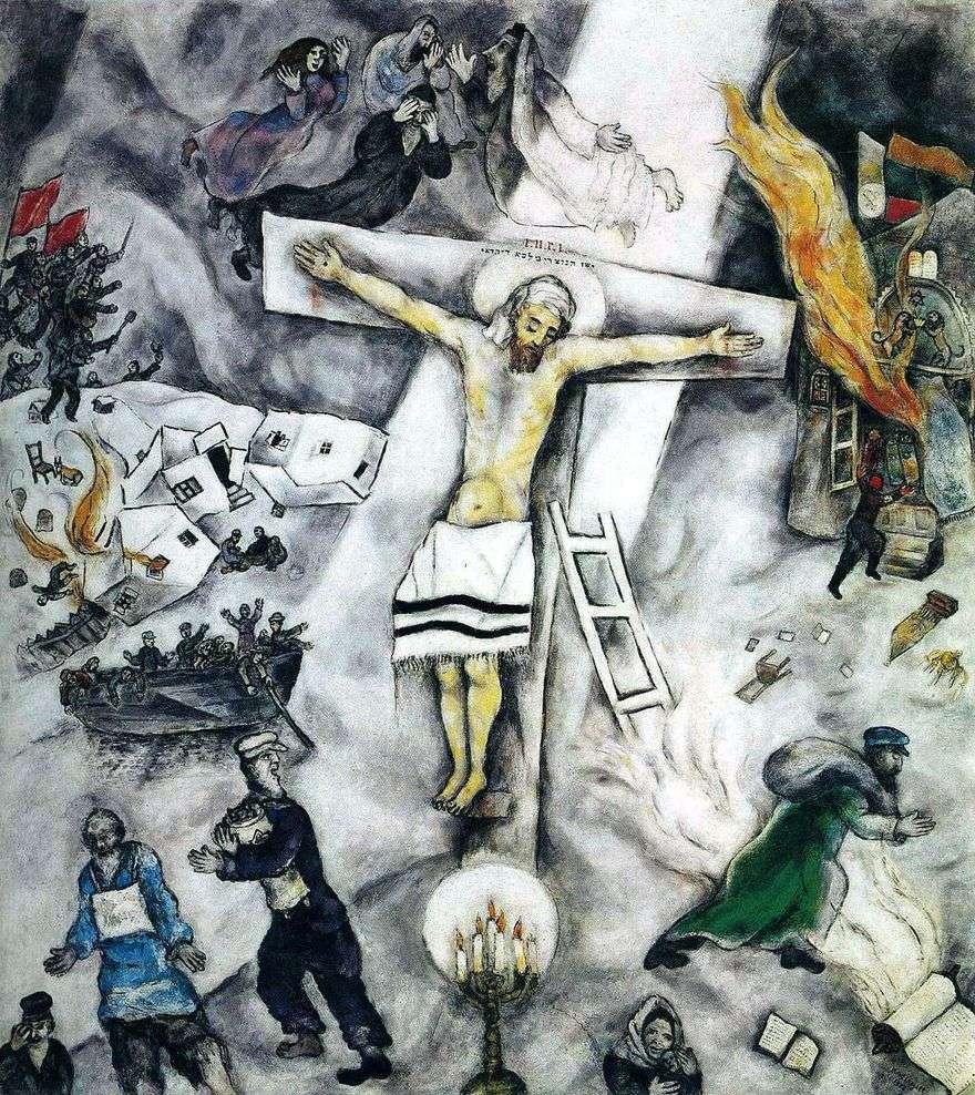 الأبيض الصليب   مارك شاغال