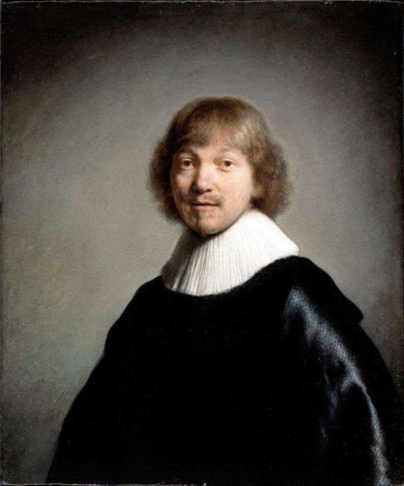 صورة لجاك دي هين الثالث   رامبرانت هارمنز فان راين