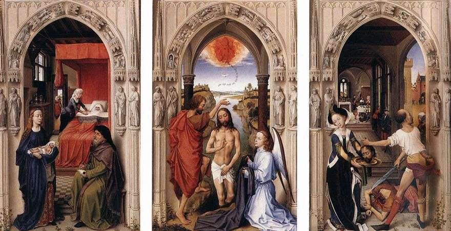 مذبح القديس يوحنا المعمدان   روجير فان دير فايدن