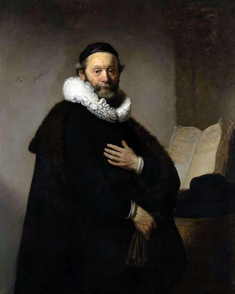 صورة لجان يوتنبوغارتا   رامبرانت هارمنز فان راين