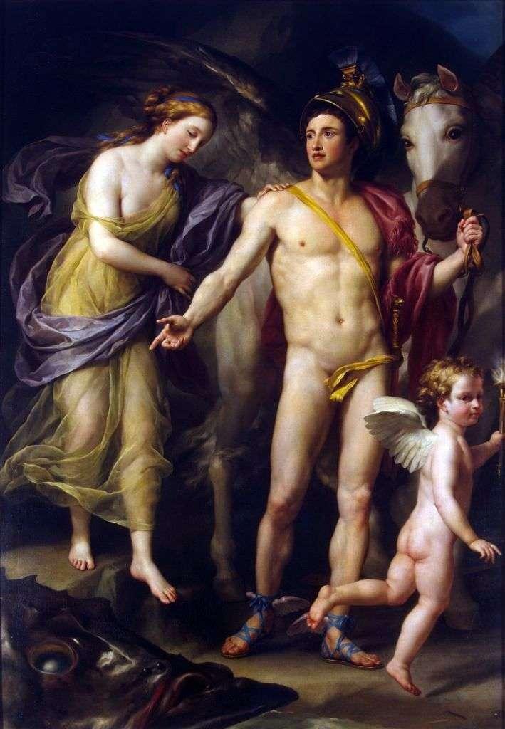فرساوس وأندروميدا   أنطون رافائيل منغز