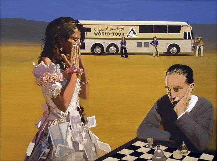 لعب الشطرنج مع تريسي   بيتر بليك