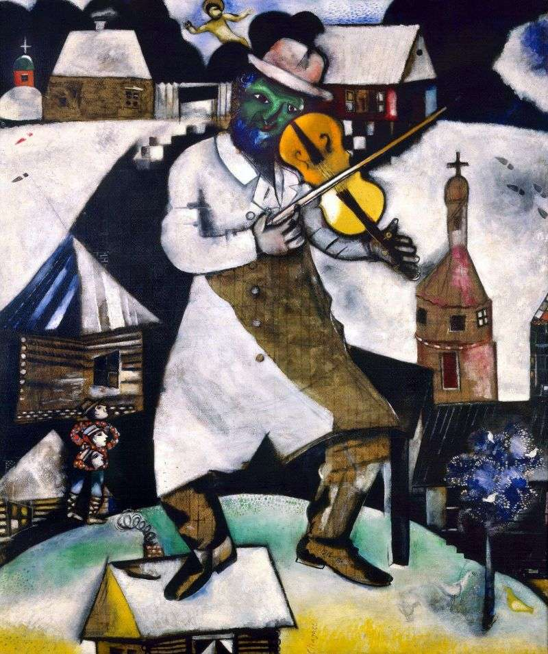 عازف الكمان   مارك شاغال