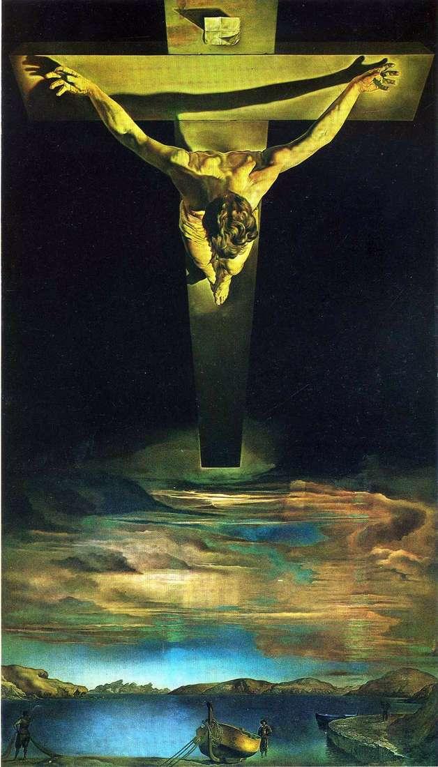 المسيح من sv. جون الصليب   سلفادور دالي