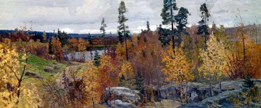 الخريف الذهبي في كاريليا   فاسيلي مشكوف