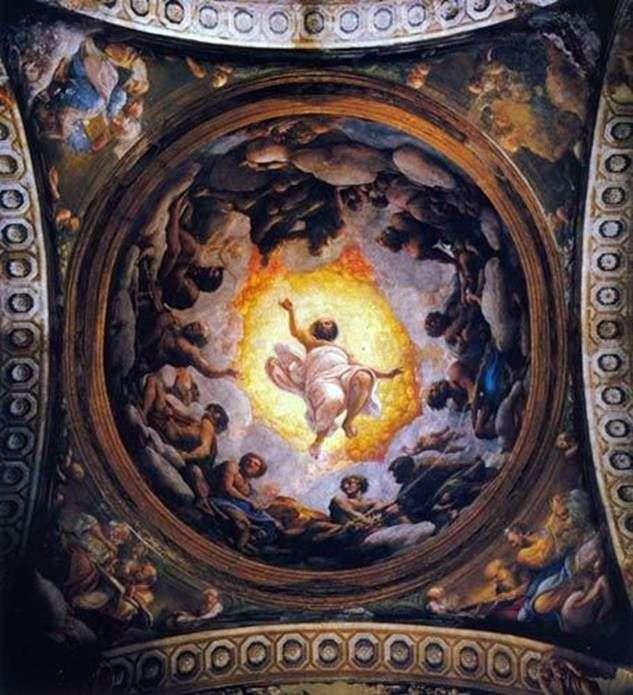 رؤية يوحنا الإلهي على باتموس   كوريجيو (أنطونيو أليغري)