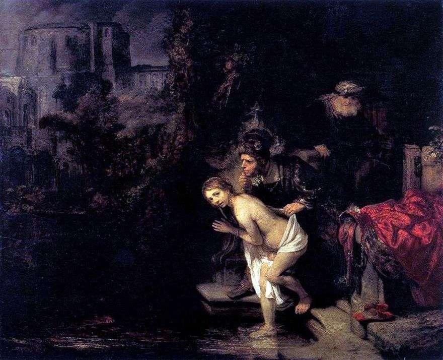 سوزانا والشيوخ   رامبرانت هارمنز فان راين