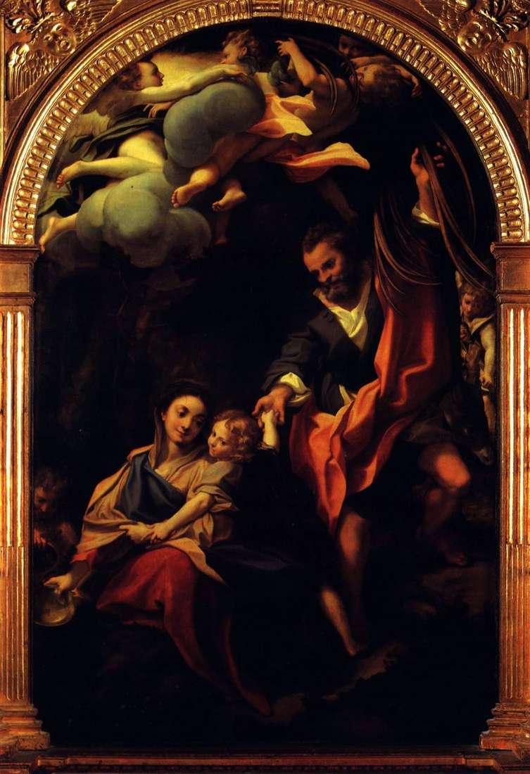 مادونا مع سلة   كوريجيو (أنطونيو أليغري)