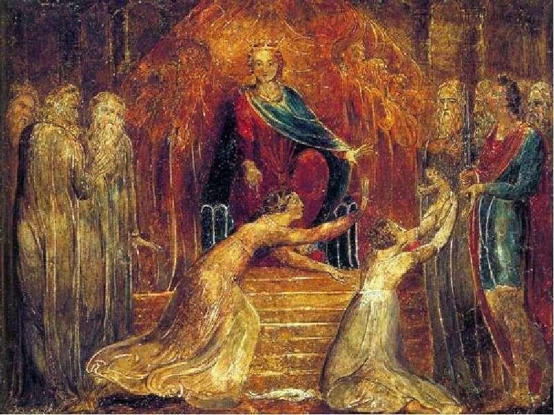 حكم الملك سليمان   ويليام بليك