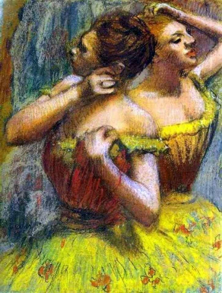 راقصان   إدغار ديغا