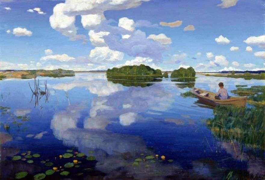 بحيرة   غريغوري بوبروفسكي