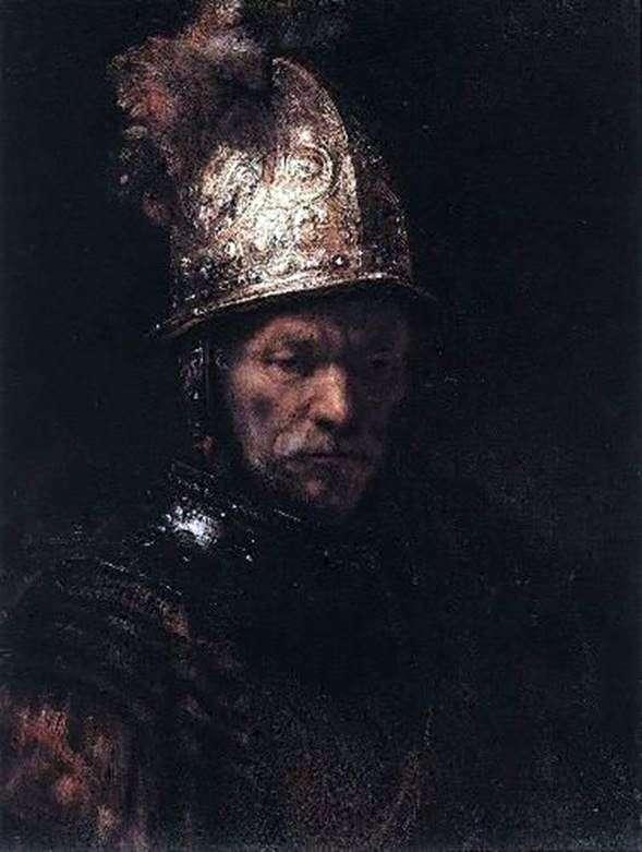 الرجل في الخوذة الذهبية   رامبرانت هارمنز فان راين