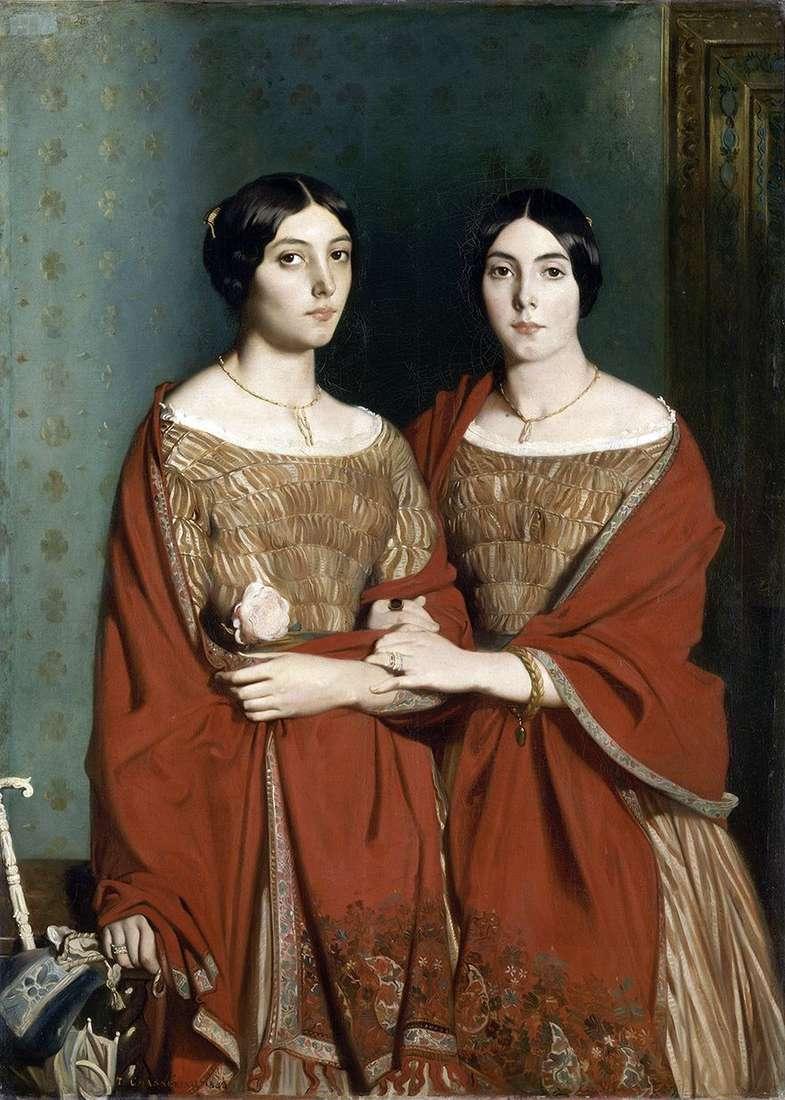 أختان   ثيودور شاسريو