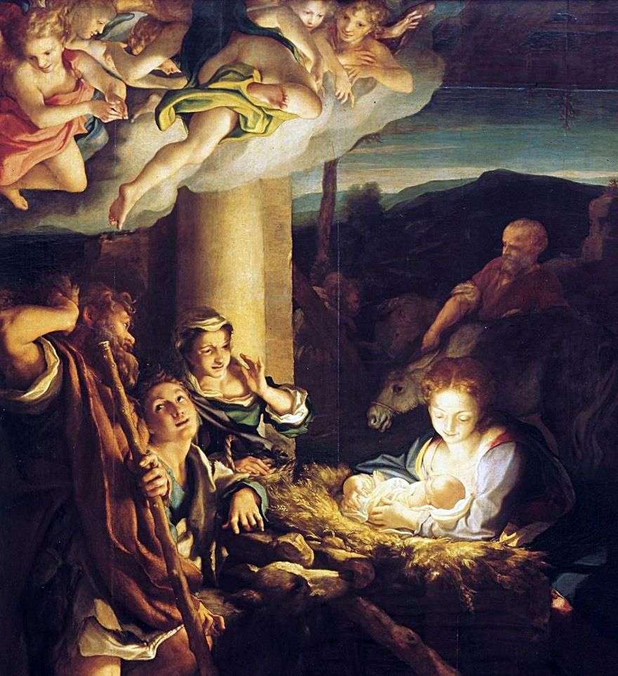 عيد الميلاد (الليل)   كوريجيو (أنطونيو أليغري)
