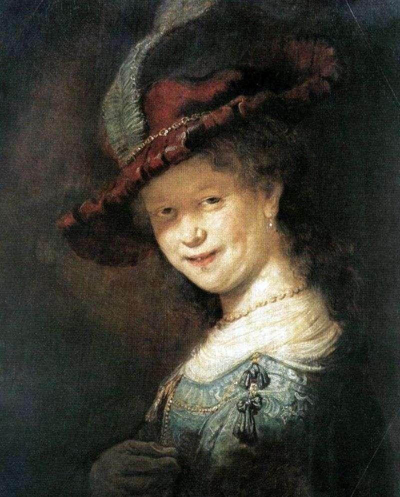 صورة لساسكيا فان إيليبورش   رامبرانت هارمنز فان راين