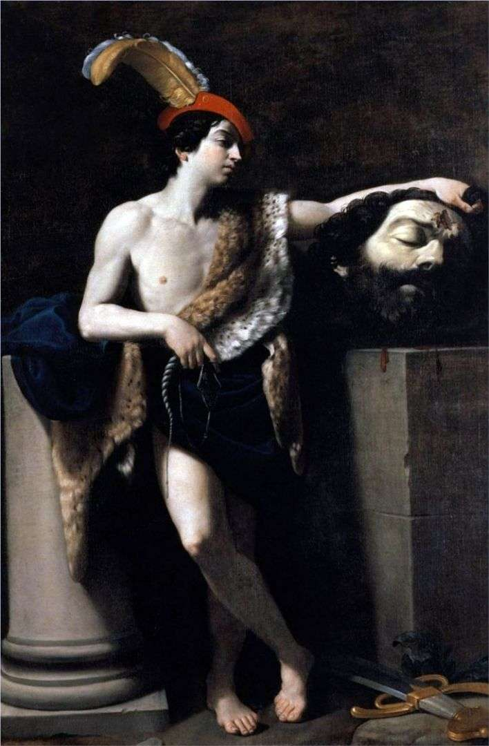 ديفيد مع رأس جالوت   جويدو ريني
