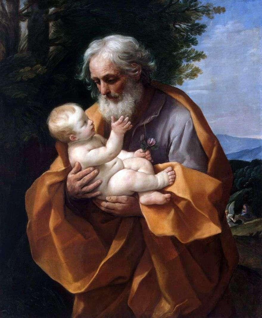 يوسف والطفل يسوع   غيدو ريني