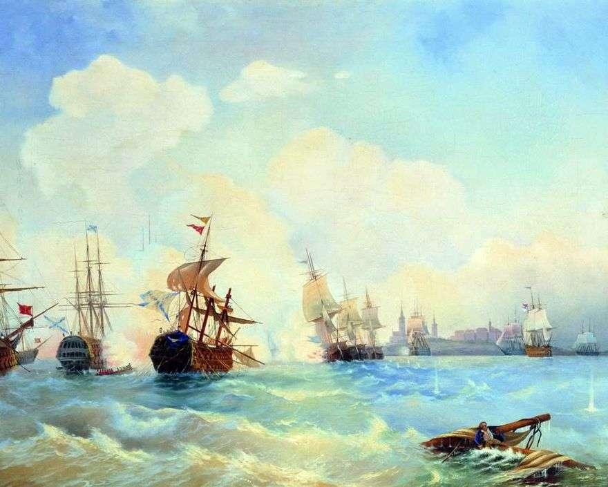 معركة ريفيل في 2 مايو 1790   أليكسي بوغوليوبوف