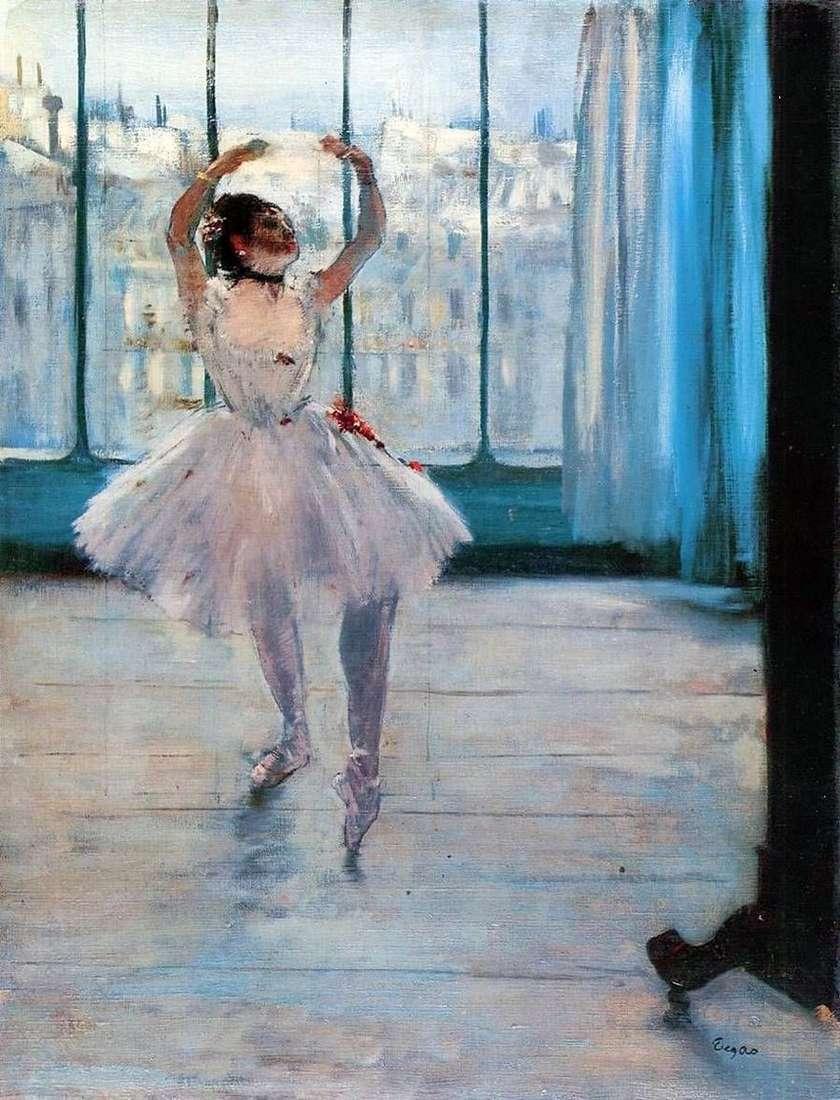 راقصة من قبل المصور   إدغار ديغا