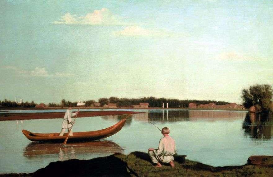 الصيادين. عرض في الحوزة Spasskoe   غريغوري سوروكا