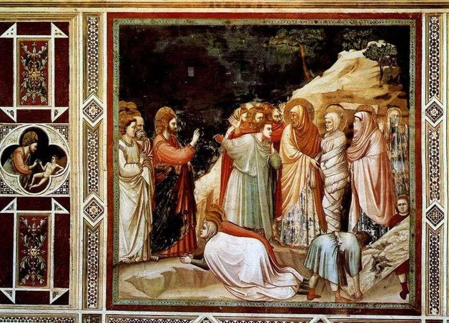 قيامة لعازر   جيوتو دي بوندون