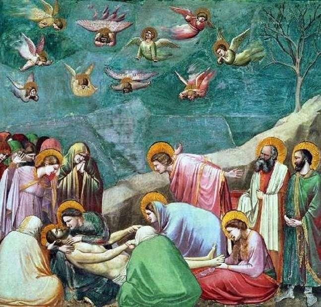 رثاء المسيح   جيوتو دي بوندون