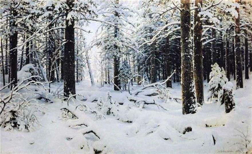 الشتاء   إيفان شيشكين