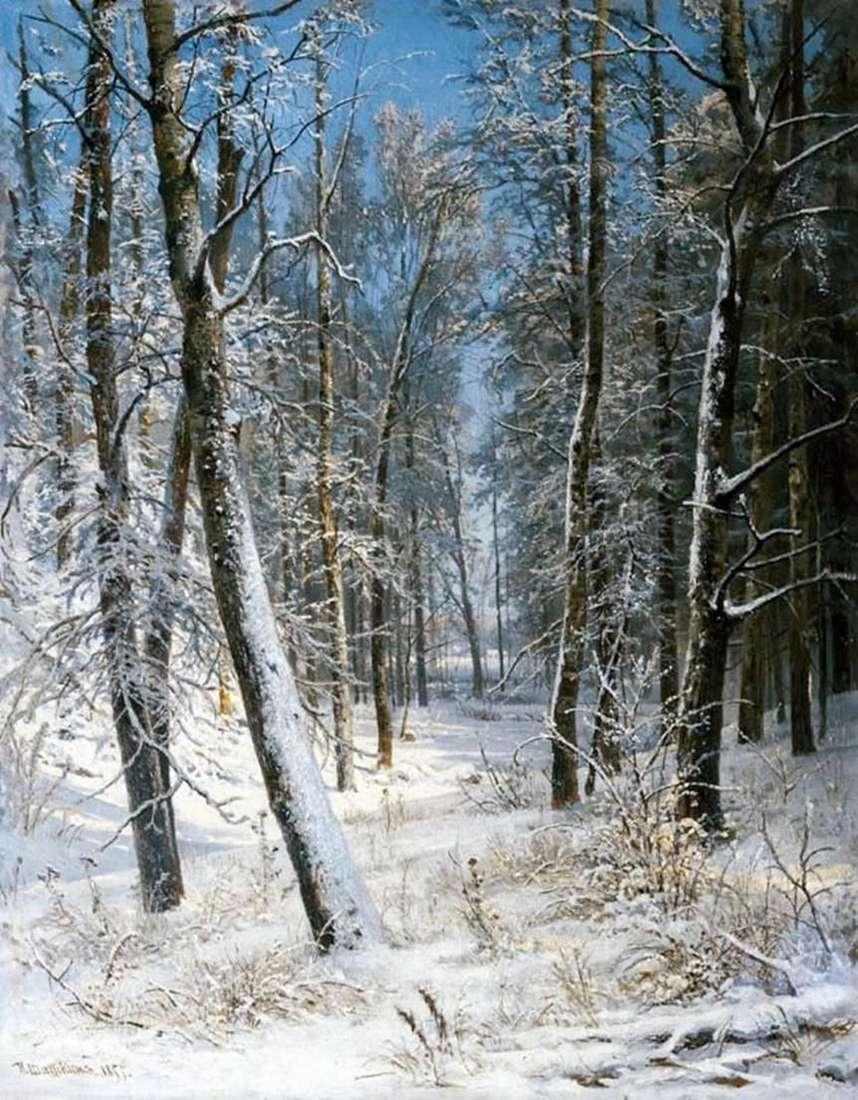 الشتاء في الغابة (الصقيع)   إيفان شيشكين