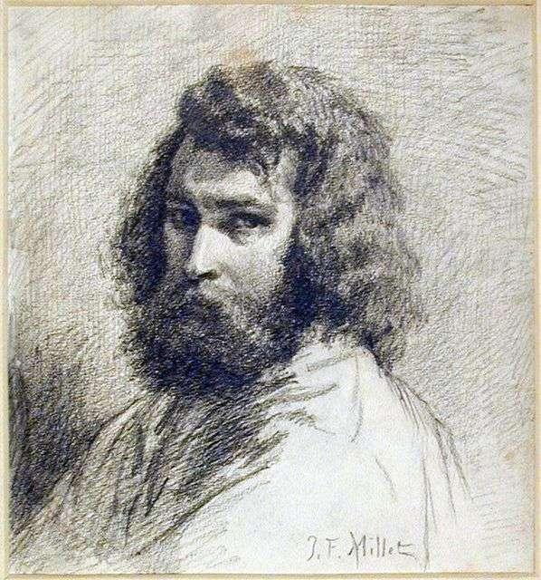 بورتريه ذاتي   جان فرانسوا ميلت
