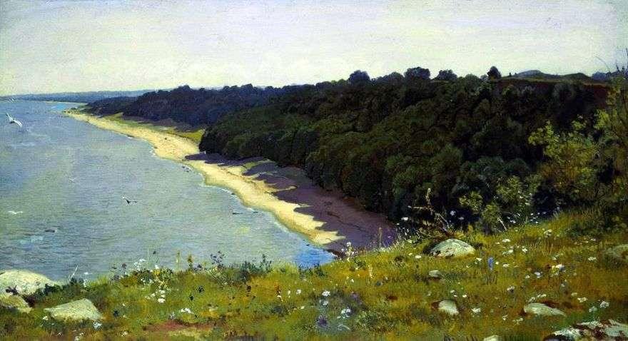 على شاطئ البحر   إيفان شيشكين