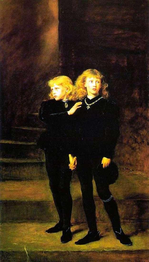الأمراء في البرج   جون ايفرت ميلي