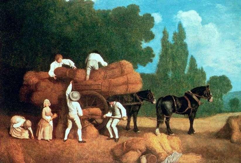 حصاد العربة   جورج ستابس