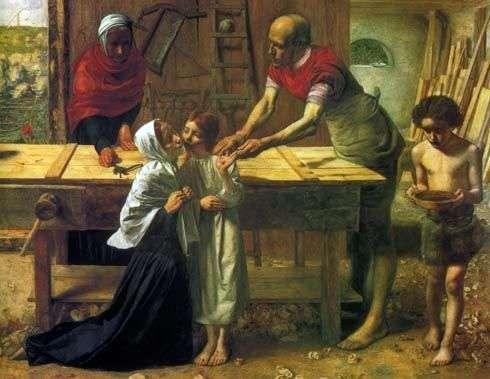 المسيح في منزل الوالدين   جون ايفرت ميلي