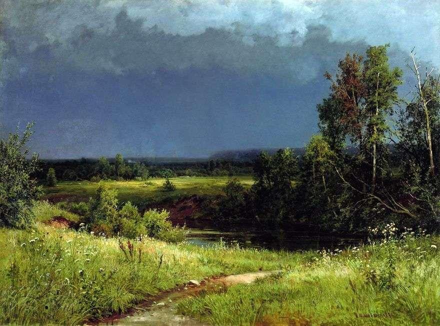 قبل العاصفة   إيفان شيشكين