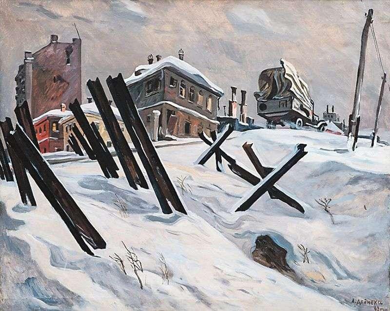ضواحي موسكو. نوفمبر 1941   الينسندر دينيكا