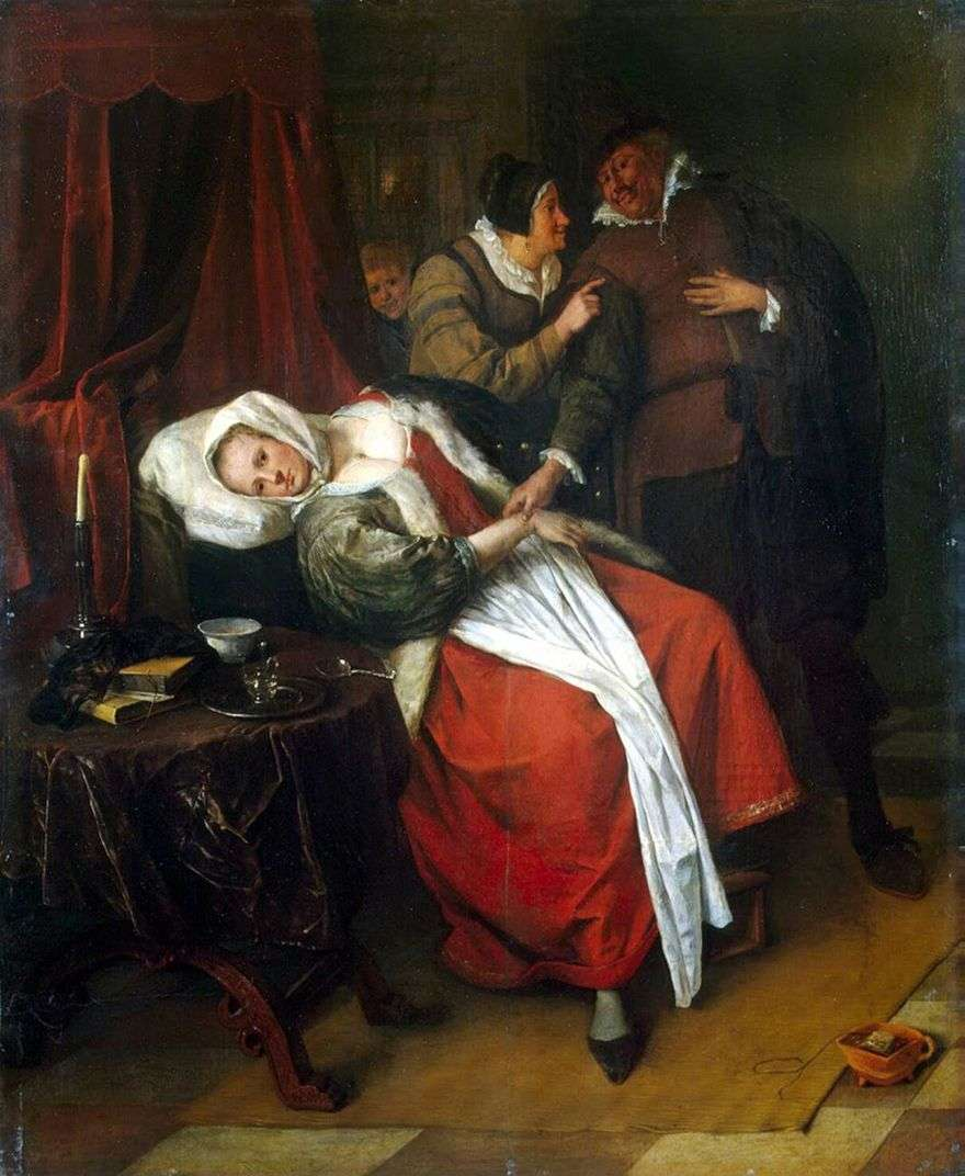 المريض والطبيب   جان ستين