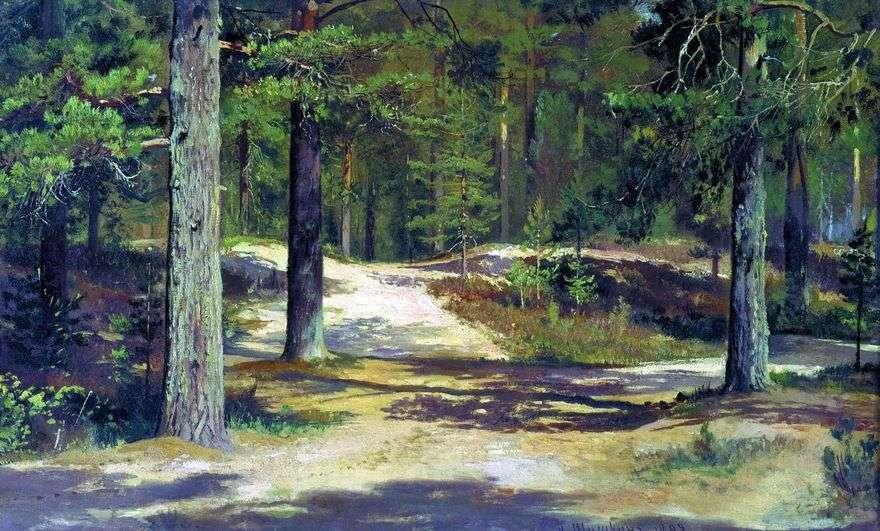 غابة الصنوبر   إيفان شيشكين