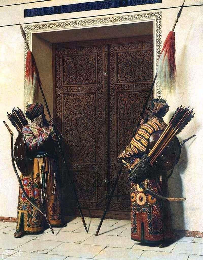 أبواب تيمور (Tamerlan)   فاسيلي Vereshchagin