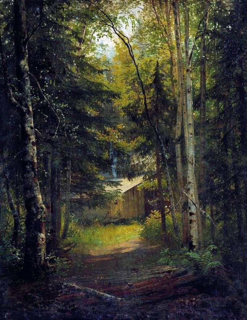 برج المراقبة في الغابة   إيفان شيشكين