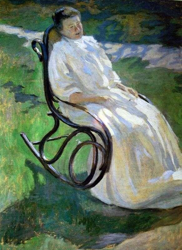 السيدة في الكرسي الهزاز   فيكتور بوريسوف موساتوف